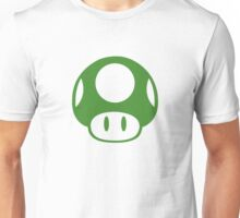 Super Mario Bros 1-Up Mushroom Unisex T-Shirt