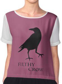 Filthy Crow Chiffon Top