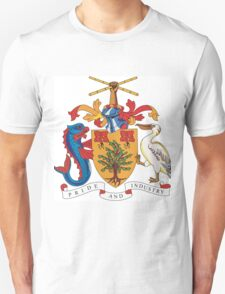 Barbados Coat of Arms Unisex T-Shirt