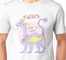 wear what you want Unisex T-Shirt