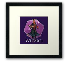 Dungeons and Dragons Wizard Framed Print