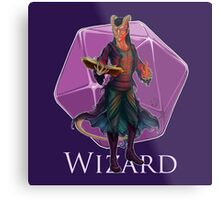 Dungeons and Dragons Wizard Metal Print