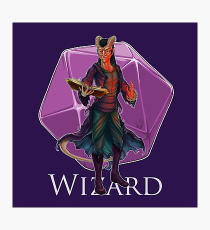 Dungeons and Dragons Wizard Photographic Print