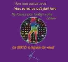 Kylie - La Disco a Besoin de Vous! T-shirt by markkm08