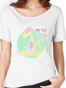 my face is none of your business Women's Relaxed Fit T-Shirt