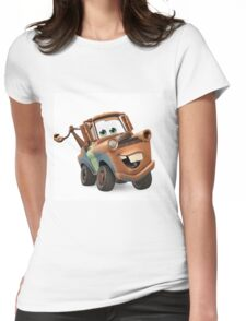 Tow Mater Cars Womens Fitted T-Shirt
