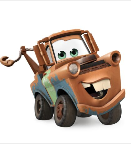 Tow Mater Cars Sticker