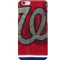 Washington Nationals iPhone Case/Skin