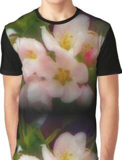 Colorful Spring Time Blooms Graphic T-Shirt