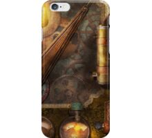 Steampunk - Victorian fuse box iPhone Case/Skin