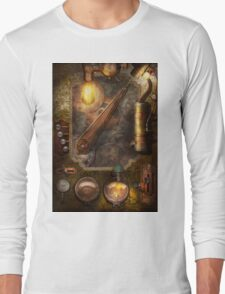 Steampunk - Victorian fuse box Long Sleeve T-Shirt