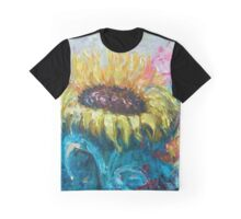 Sunny Flower by Lena Owens Graphic T-Shirt
