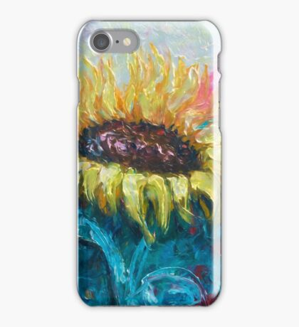 Sunny Flower by Lena Owens iPhone Case/Skin