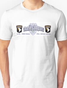 Currahee - Charlie Company - 1st Bn / 506th Infantry  -  101st Airborne (Airmobile) Unisex T-Shirt
