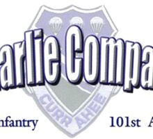 Currahee - Charlie Company - 1st Bn / 506th Infantry  -  101st Airborne (Airmobile) Sticker