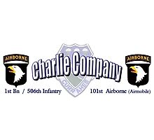 Currahee - Charlie Company - 1st Bn / 506th Infantry  -  101st Airborne (Airmobile) Photographic Print
