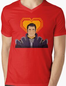 N7 Keep - Kaidan Mens V-Neck T-Shirt