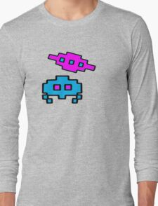 RETRO SPACE CHARACTERS Long Sleeve T-Shirt