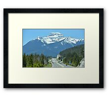 Banff National Park Framed Print