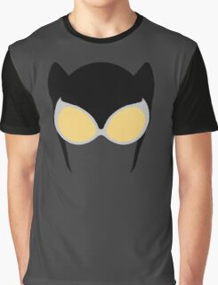 Catwoman Mask Graphic T-Shirt
