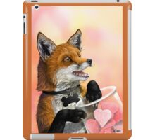 Little Fox Loves You Digital Artwork iPad Case/Skin
