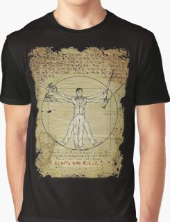 The Ash-Truvian Man Graphic T-Shirt