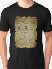 The Ash-Truvian Man Unisex T-Shirt