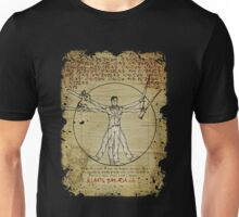 The Ash-Truvian Man Unisex T-Shirt