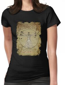 The Ash-Truvian Man Womens Fitted T-Shirt
