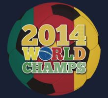 2014 World Champs Ball - Cameroon One Piece - Long Sleeve