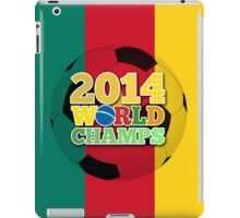 2014 World Champs Ball - Cameroon iPad Case/Skin