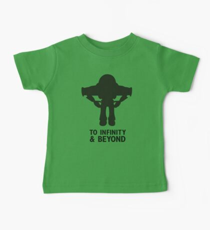 Buzz Lightyear: To Infinity & Beyond - Black Baby Tee