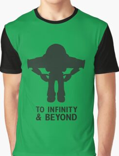 Buzz Lightyear: To Infinity & Beyond - Black Graphic T-Shirt