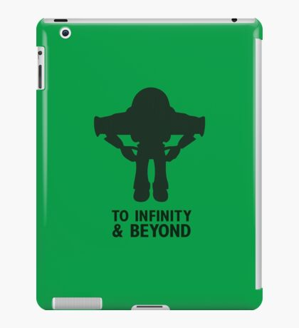 Buzz Lightyear: To Infinity & Beyond - Black iPad Case/Skin