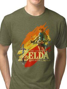 Legend of Zelda - Breath of The Wild Tri-blend T-Shirt