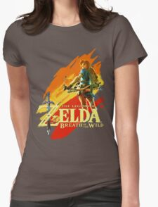 Legend of Zelda - Breath of The Wild Womens Fitted T-Shirt