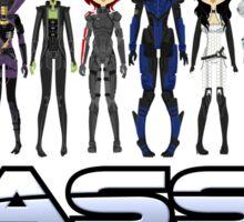 Mass Effect 2 Crew  ver.1 Sticker