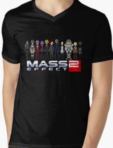 Mass Effect 2 Crew  ver.1 Mens V-Neck T-Shirt