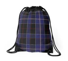 02656 Dunlop Clan/Family Tartan  Drawstring Bag