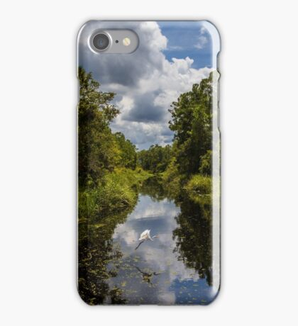 Cove to the lake iPhone Case/Skin