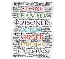 Harry Potter Typography Poster