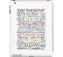 Harry Potter Typography iPad Case/Skin