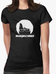 Nanomachines? Nanomachines. Womens Fitted T-Shirt