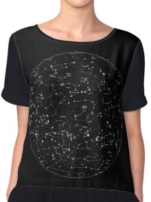 Constellations Chiffon Top