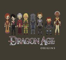 Dragon Age Origins Party by Shadyfolk