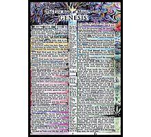 Genesis One  Photographic Print