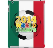 2014 World Champs Ball - Mexico iPad Case/Skin