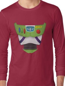 Buzz Lightyear Chest - Toy Story Long Sleeve T-Shirt