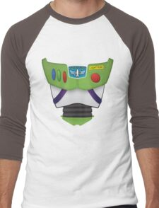 Buzz Lightyear Chest - Toy Story Men's Baseball ¾ T-Shirt