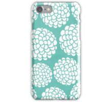Minimal Hydrangeas Blossoms iPhone Case/Skin